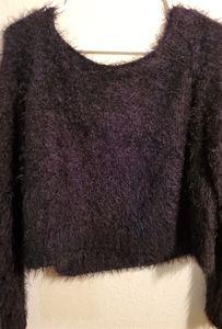 Decree fur crop top